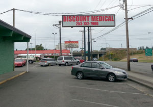 Discount Medical Street Sign