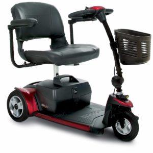 Pride Go-Go Elite Traveller Plus 3-Wheel Power Scooter