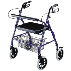 Rollators with Seat & Brakes