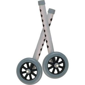 5″ Wheels for walker